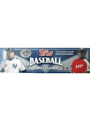 2005 TOPPS BASEBALL SET (RETAIL VERSION, PP $49.99)