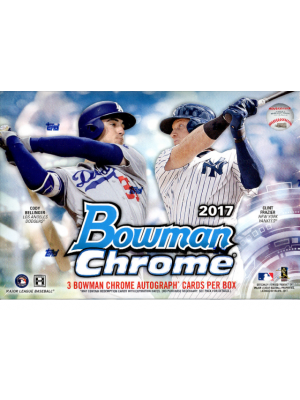 2017 BOWMAN CHROME BASEBALL (HTA CHOICE)