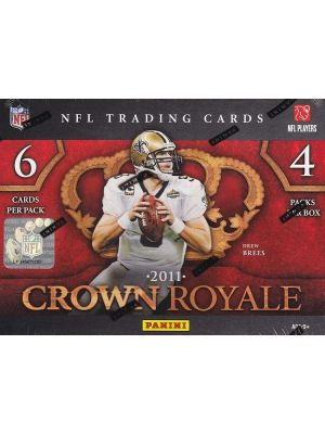 2011 PANINI CROWN ROYALE FOOTBALL