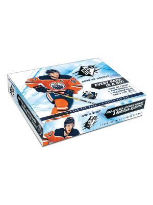 2018/19 UPPER DECK SPX HOCKEY