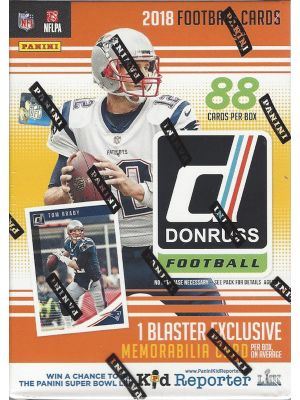 2018 PANINI DONRUSS FOOTBALL (BLASTER)