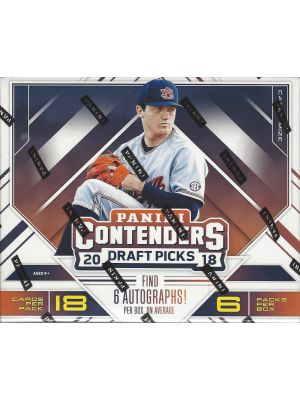 2018 PANINI CONTENDERS DRAFT PICKS BASEBALL