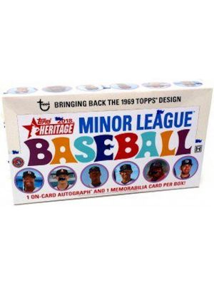 2018 TOPPS HERITAGE MINOR LEAGUE BASEBALL