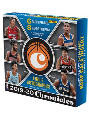 2019/20 PANINI CHRONICLES BASKETBALL