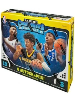 2019/20 PANINI CONTENDERS DRAFT PICKS BASKETBALL