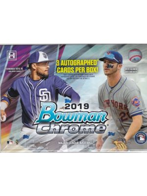 2019 BOWMAN CHROME HTA CHOICE BASEBALL