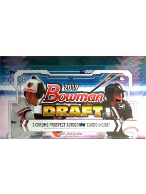 2019 BOWMAN DRAFT BASEBALL (JUMBO)