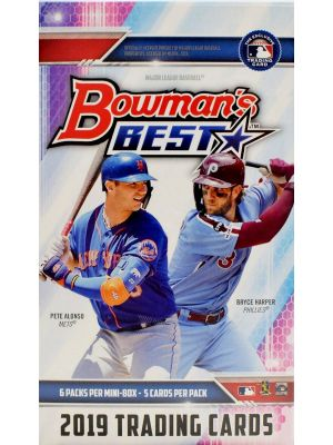 2019 BOWMAN'S BEST BASEBALL (MINI BOX)