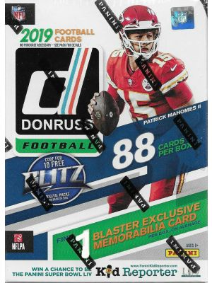 2019 PANINI DONRUSS FOOTBALL (BLASTER)