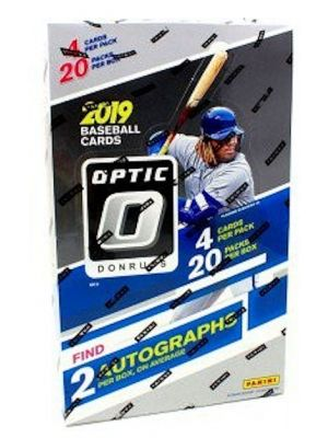 2019 PANINI DONRUSS OPTIC BASEBALL