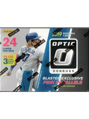 2019 PANINI DONRUSS OPTIC BASEBALL (BLASTER)