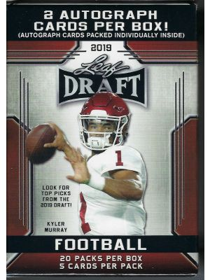 2019 LEAF DRAFT FOOTBALL (RETAIL)