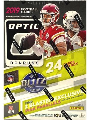 2019 PANINI DONRUSS OPTIC FOOTBALL (BLASTER)