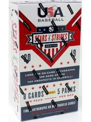 2019 PANINI USA STARS & STRIPES BASEBALL