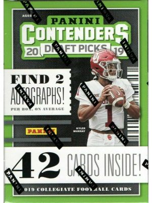 2019 PANINI CONTENDERS DRAFT PICKS FOOTBALL (BLASTER)