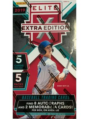 2019 PANINI ELITE EXTRA EDITION BASEBALL
