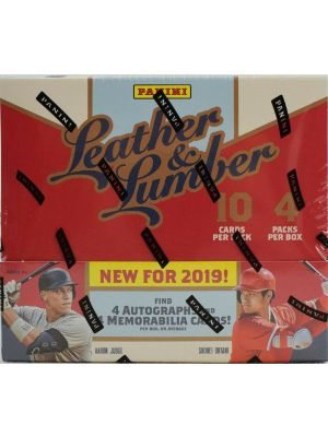 2019 PANINI LEATHER & LUMBER BASEBALL