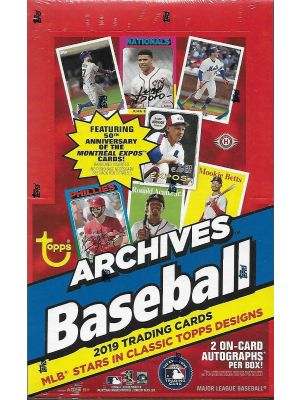 2019 TOPPS ARCHIVES BASEBALL