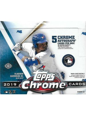 2019 TOPPS CHROME BASEBALL (JUMBO)