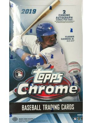 2019 TOPPS CHROME BASEBALL