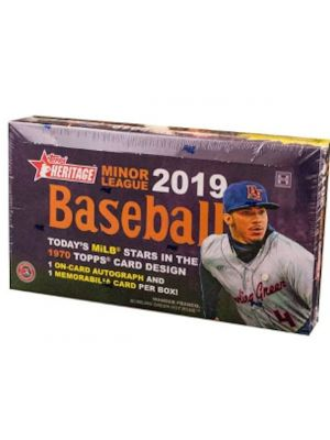 2019 TOPPS HERITAGE MINOR LEAGUE BASEBALL