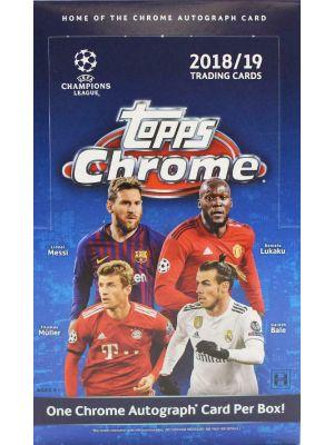 2018/19 TOPPS CHROME UEFA CHAMPIONS LEAGUE SOCCER