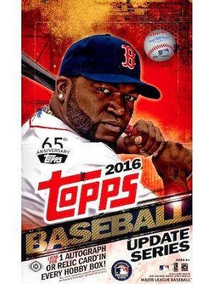 2016 TOPPS UPDATE BASEBALL