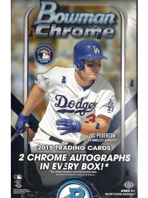 2015 BOWMAN CHROME BASEBALL