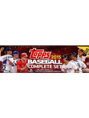 2015 TOPPS BASEBALL SET (HOBBY VERSION)