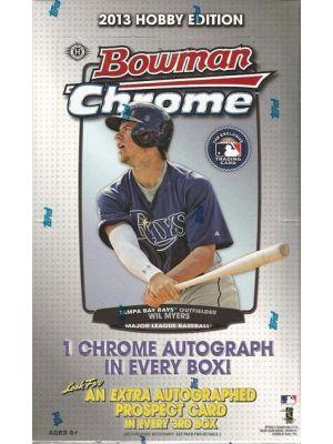2013 BOWMAN CHROME BASEBALL