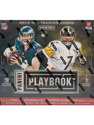 2016 PANINI PLAYBOOK FOOTBALL