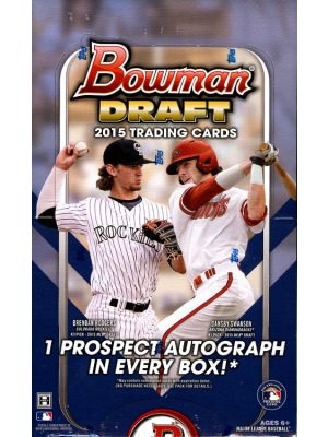 2015 BOWMAN DRAFT BASEBALL