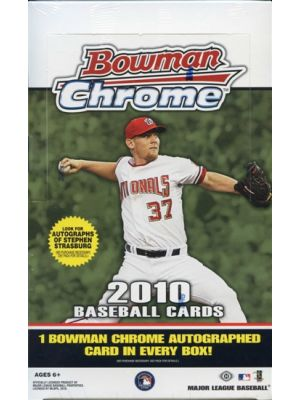 2010 BOWMAN CHROME BASEBALL