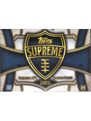 2015 TOPPS SUPREME FOOTBALL