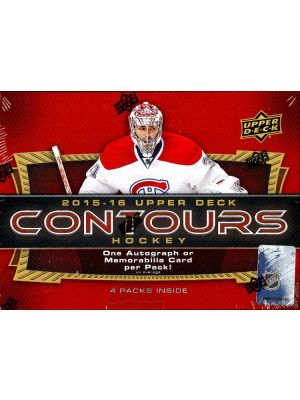 2015/16 UPPER DECK CONTOURS HOCKEY