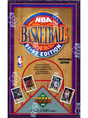 1991/92 UPPER DECK 1 BASKETBALL (LOW # SERIES)