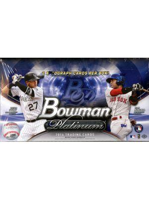 2016 BOWMAN PLATINUM BASEBALL