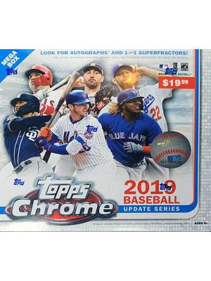 2019 TOPPS CHROME UPDATE BASEBALL (MEGA, PP $19.99)