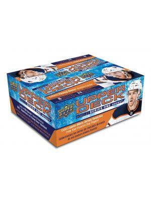 2020/21 UPPER DECK 1 HOCKEY (RETAIL / NO BOX, ALL 36 PACKS FROM SAME BOX)