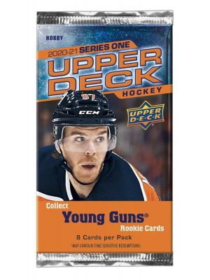 2020/21 UPPER DECK 1 HOCKEY PACK