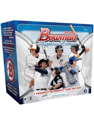 2020 BOWMAN BASEBALL (SAPPHIRE EDITION)