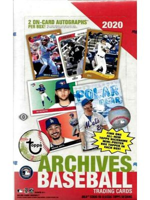 2020 TOPPS ARCHIVES BASEBALL