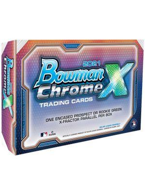 2021 BOWMAN CHROME X BASEBALL