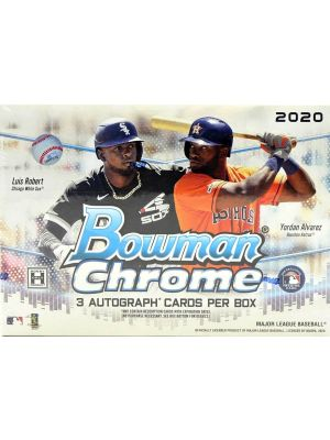 2020 BOWMAN CHROME BASEBALL (HTA CHOICE)