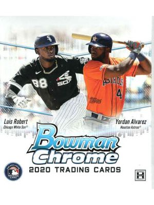 2020 BOWMAN CHROME BASEBALL (MINI BOX)