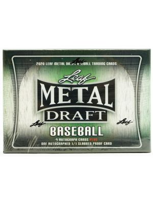 2020 LEAF METAL DRAFT BASEBALL (JUMBO)