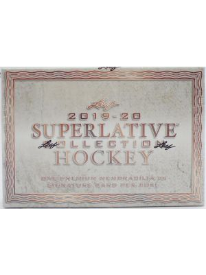 2019/20 LEAF SUPERLATIVE COLLECTION HOCKEY
