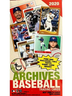 2020 TOPPS ARCHIVES BASEBALL (BLASTER)