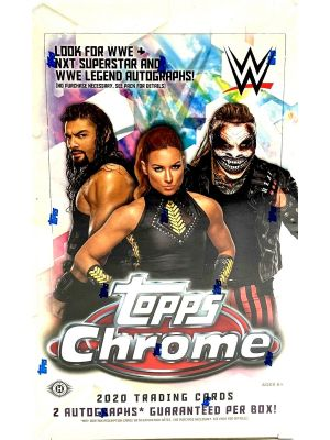 2020 TOPPS WWE CHROME WRESTLING
