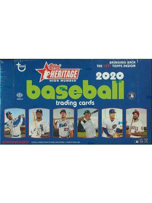 2020 TOPPS HERITAGE HIGH NUMBER BASEBALL